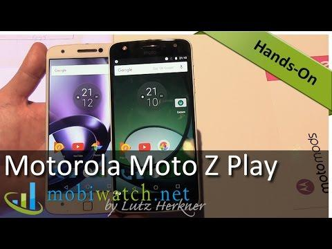 2525 Motorola Moto Z Play: Hands On the Marathon Mobile | Review – Test