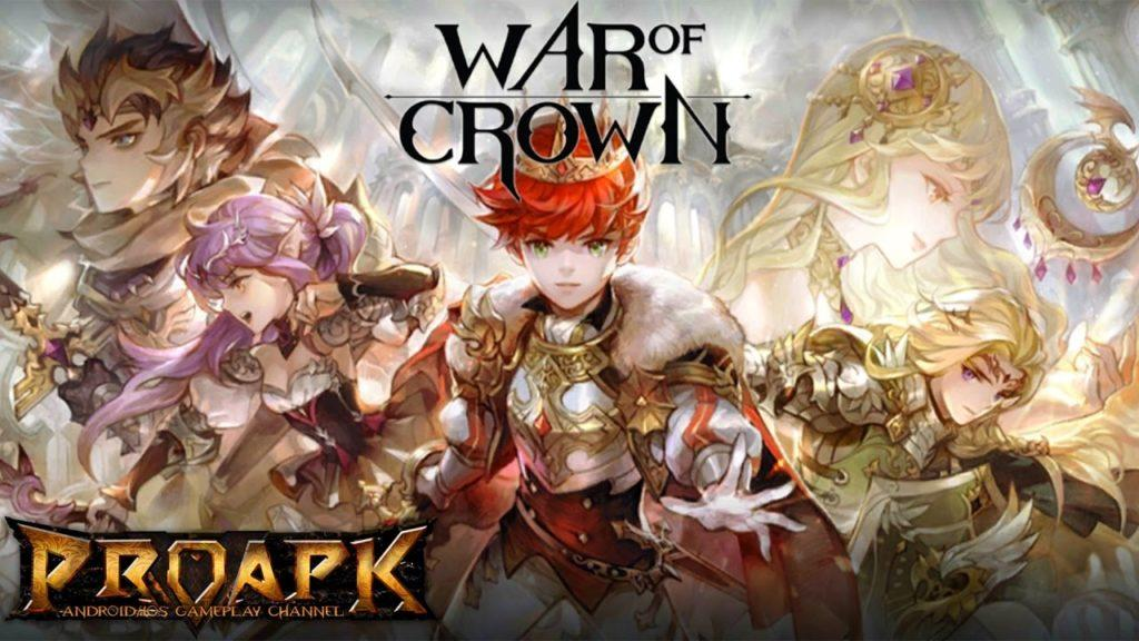 2527 WAR OF CROWN Gameplay Android / iOS (60fps)