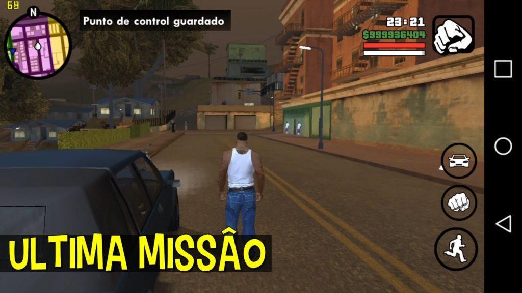 2541 Zerando GTA San Andreas no Android - PT1