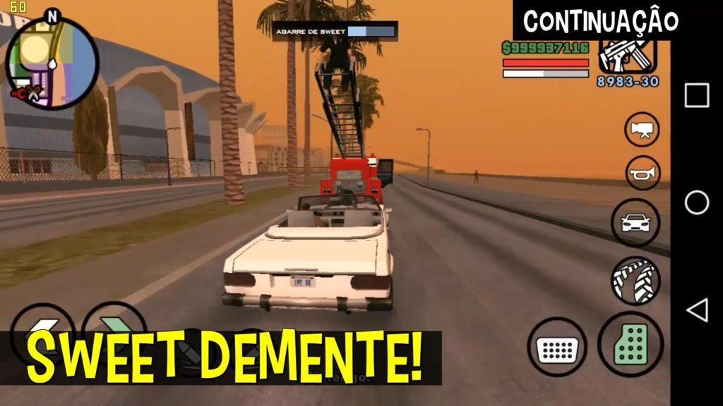 2553 Zerando GTA San Andreas no Android - PT2