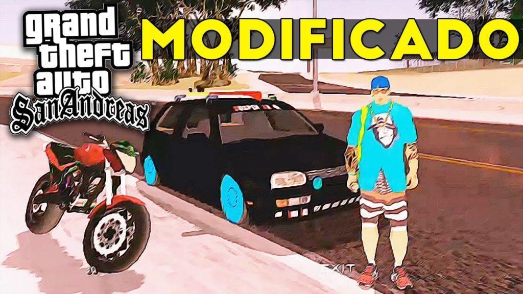 2606 GTA San Andreas Modicado para Celular (Android) - Carros REBAIXADOS