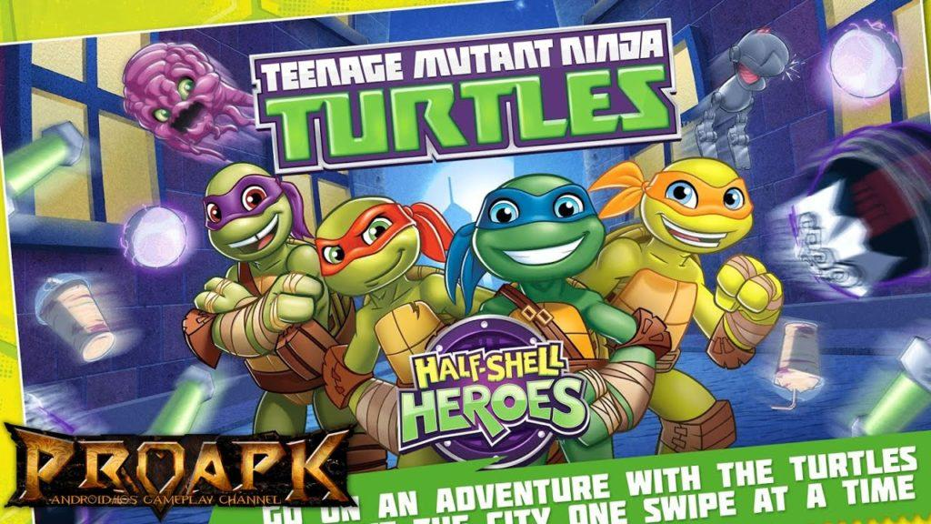 2649 TMNT Half Shell Heroes Gameplay iOS / Android