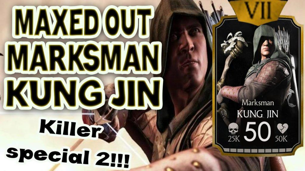 2651 Marksman Kung Jin MAXED OUT in MKX Mobile 1.8. Detailed review.