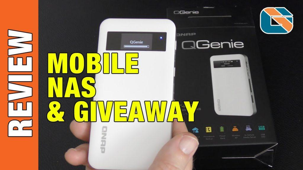 2667 QNAP QGenie 7-in-1 Mobile NAS Review
