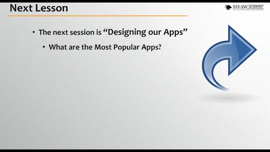 2793 Shaw Academy Mobile App Development Review | Lesson 1