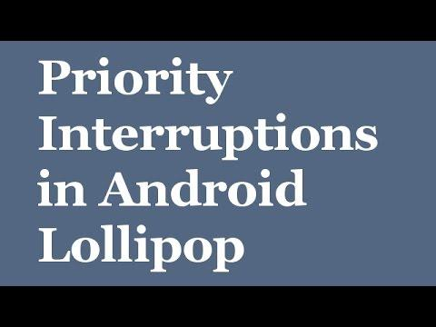 2810 Using 'Priority interruptions' in Android Lollipop