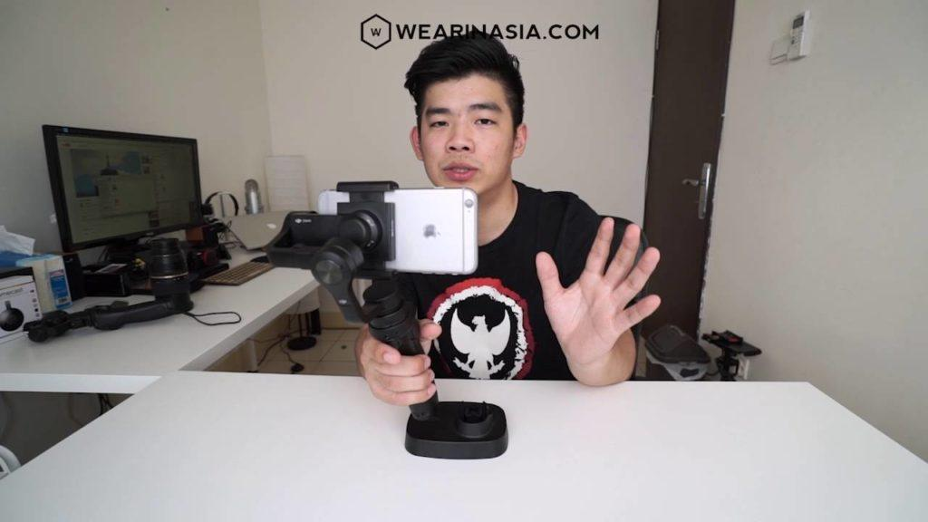 2838 DJI OSMO MOBILE, REVIEW & UNBOXING | WEARINASIA X B.I.T.