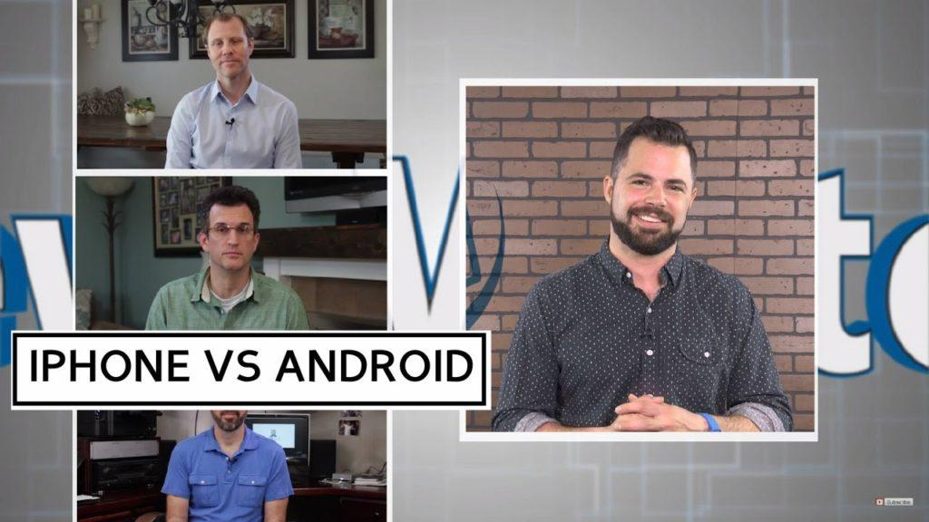 2913 iPhone vs Android Spoof - DadDudes on NewsWatch