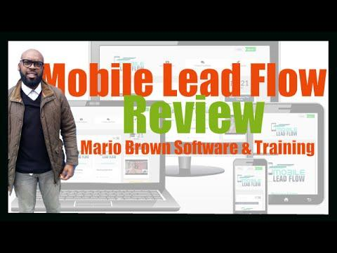2943 Mobile Lead Flow Review | Mario Brown Mobile Lead Flow Software & Training