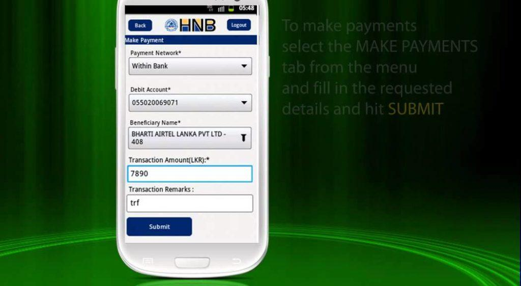 2961 Android Phone Mobile Banking Demo