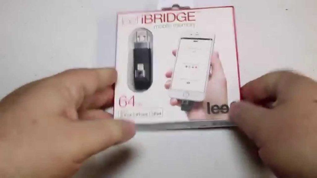 3074 Leef iBRIDGE Mobile Memory Unboxing Review