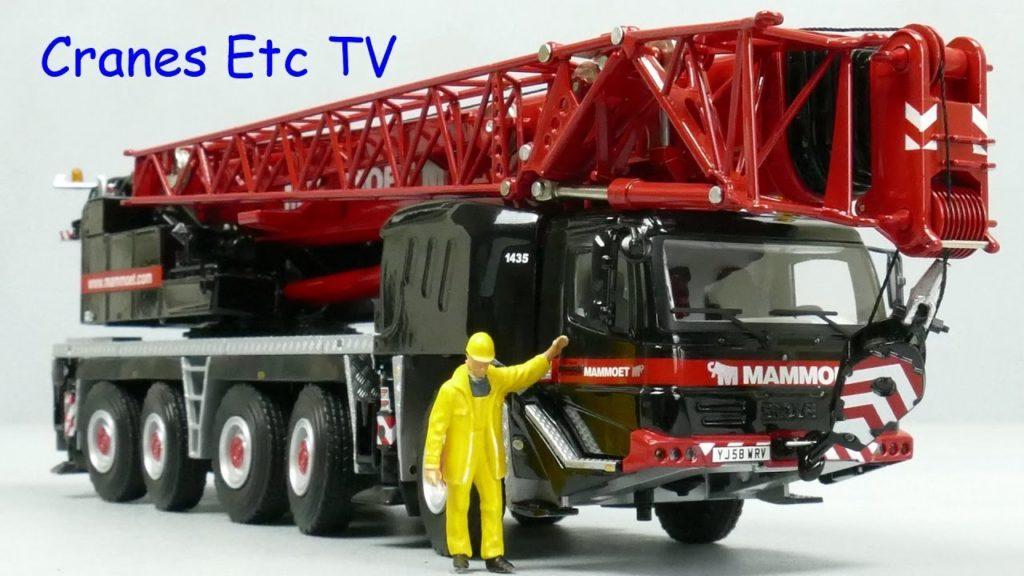 3082 WSI Grove GMK5130-2 Mobile Crane 'Mammoet' by Cranes Etc TV