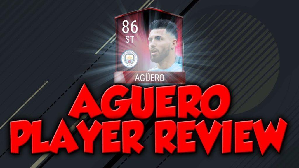 3155 FIFA 17 MOBILE - AGÜERO PLAYER REVIEW