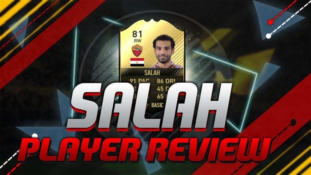 3207 SALAH PLAYER REVIEW!!! Fifa 17 Mobile Gameplay