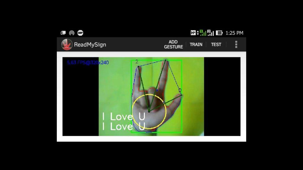 3241 Hand Gesture Recognition Using OpenCV on Android