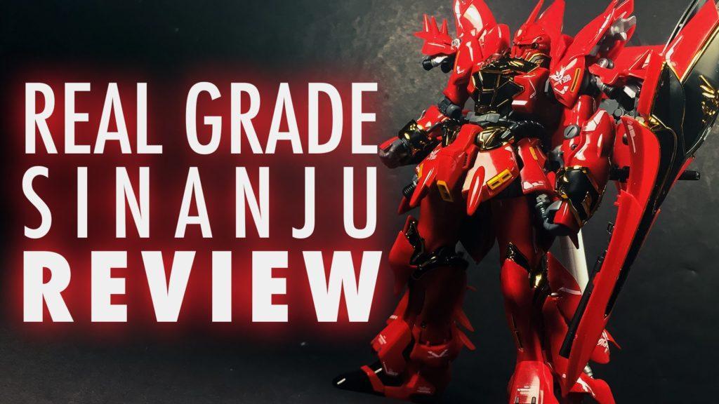 3246 1/144 RG Sinanju (Mobile Suit Gundam Unicorn) | REVIEW