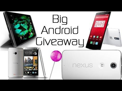 3375 Big Android Giveaway