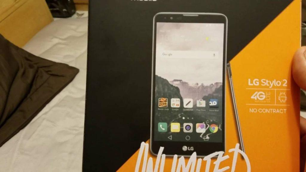 3555 LG STYLO 2 Unboxing and Review [Boost Mobile]