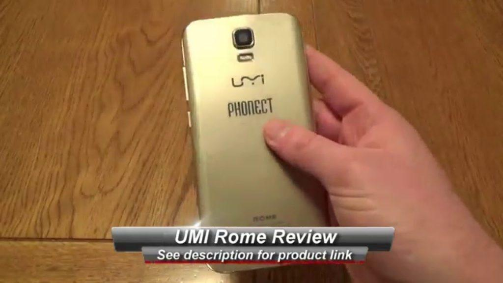 3578 UMI Rome 5 5 inch Android Mobile Review