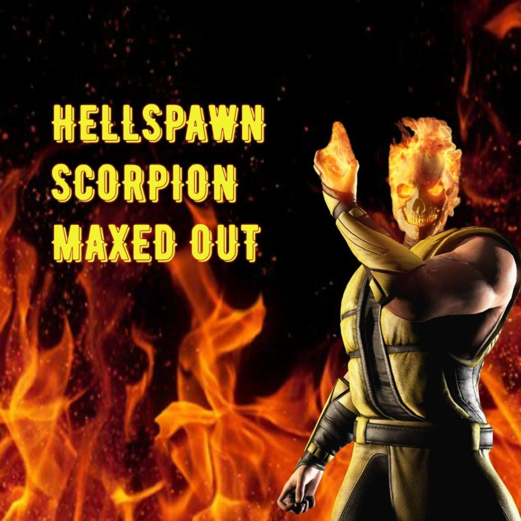 MKX Mobile Gameplay SCORPION HELLSPAWN and Kold War REVIEW . New best  team in mk x 1.9 Update
