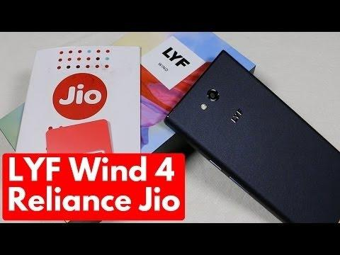 3625 LYF wind 4 best mobile unboxing review in hindi