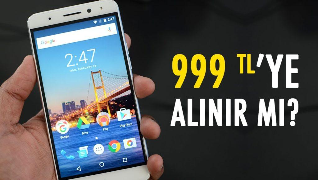 3663 General Mobile 5 Plus İncelemesi (999 TL'ye Saf Android)