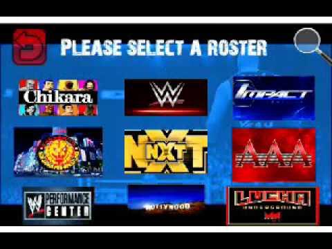 3685 Wrestling Revolutions 2D Wr2d mod WWE2K17 Android