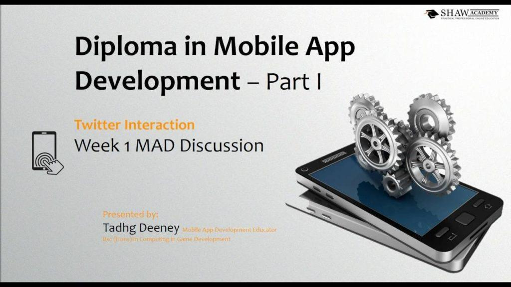 Week 1 Assignment – Shaw Academy Mobile App Development Review