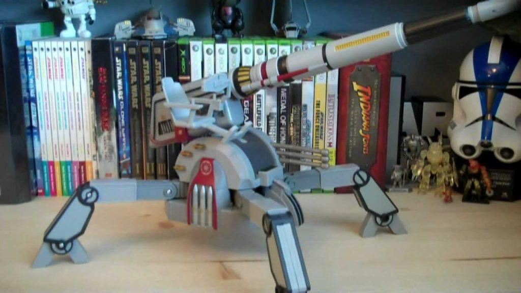 3859 Star Wars Republic AV-7 Mobile Cannon (The Clone Wars) Review