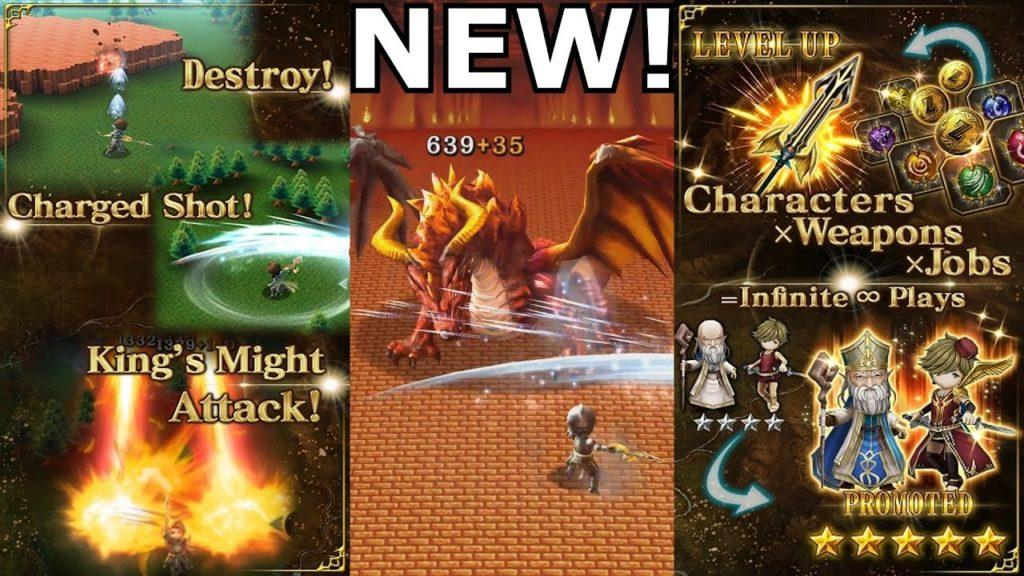 3873 Kings Knight by Square Enix | New Mobile Gamplay, Review, and First Look on Android