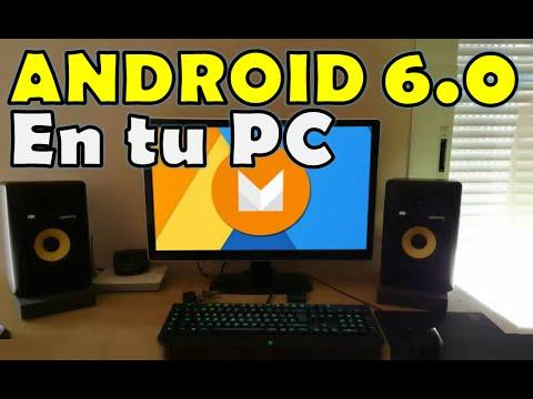 3875 ✔ Como Instalar Android 6.0 Marshmallow Windows PC Paso A Paso 2016