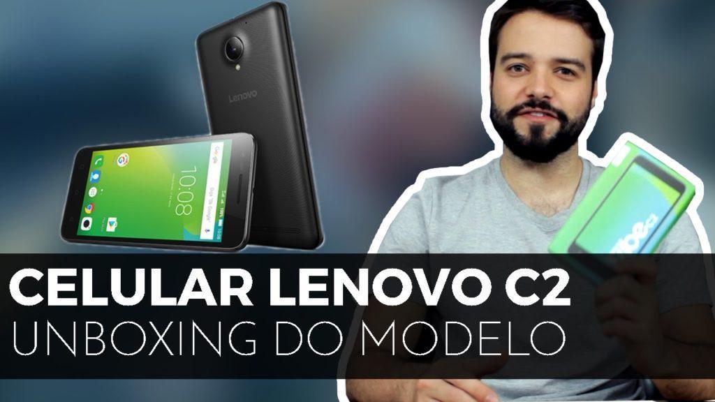 3893 [UNBOXING] Lenovo Vibe C2 | Celular Android  de R$699! Vale?
