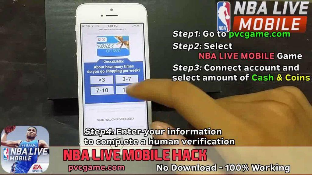 4001 nba live mobile hack for ios - nba live mobile hack review