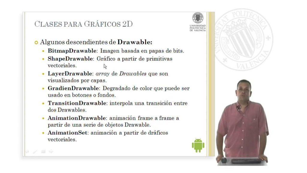 4209 API's para gráficos en Android. © UPV