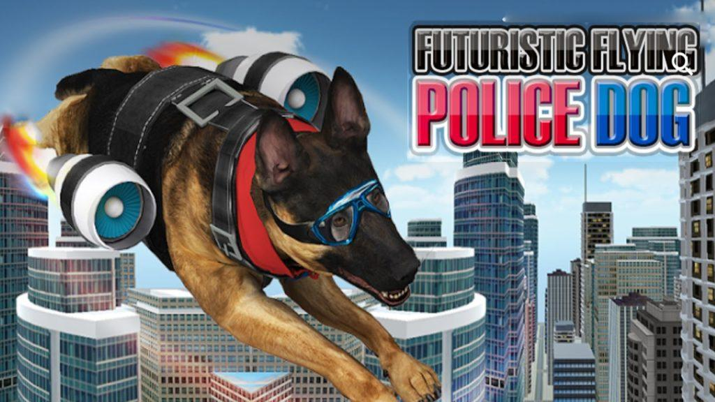 4232 Futuristic Flying Police Dog (by Titan Game Productions) Android Gameplay [HD]