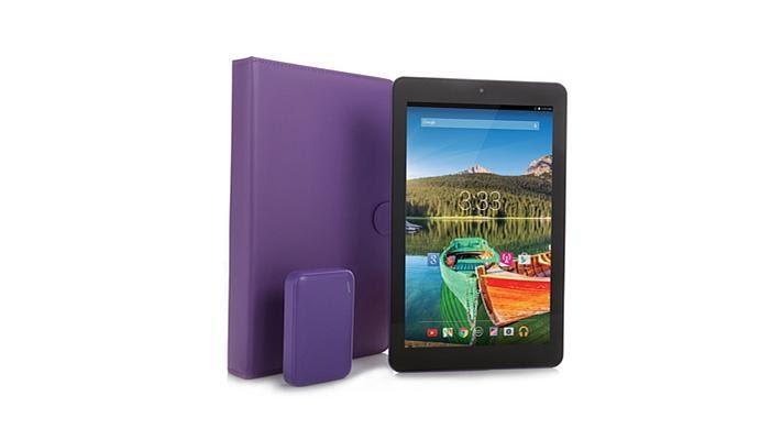 4236 Envizen 10.1 16GB Android Tablet+TMobile Data for Life