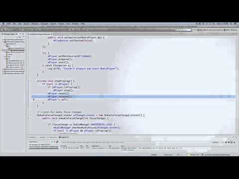 4261 Programming Mobile Applications for Android - Multimedia Part 2
