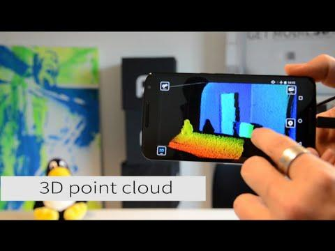 4301 ToF depth sensing goes mobile on Android – visit pmd @CES 2016