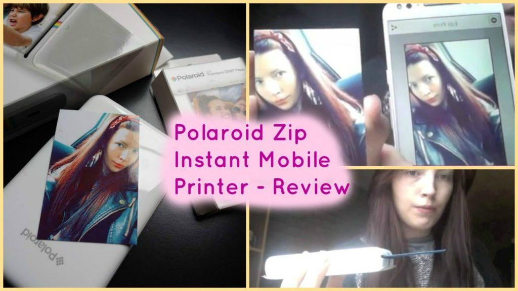 4312 Polaroid Zip Mobile Printer Unboxing/Review/Demonstration