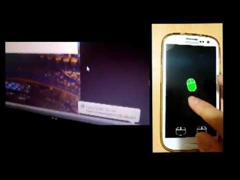 4380 GYTE Bilgisayar Mühendisliği Bitirme Projesi 1-Android Cep Telefonu ile Kablosuz Touchpad Uygulaması