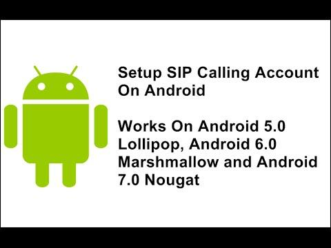 4394 How To Setup SIP Calling On Android