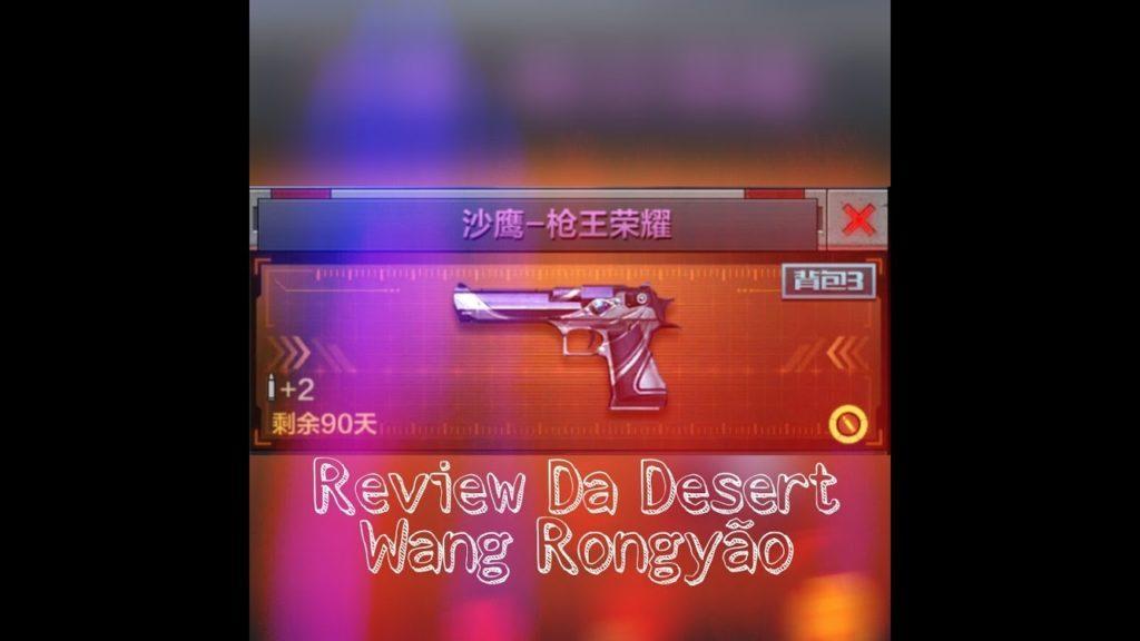 4434 Cf Mobile Review Da Pistola Wang Rongyão