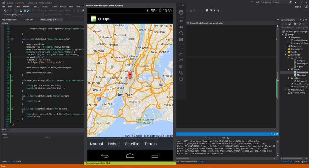 4489 Xamarin Android Tutorial 40 Google Maps
