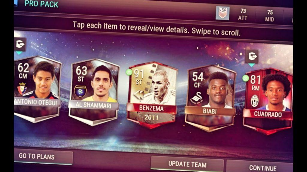 4519 OMG I GOT 91 RATED BENZEMA!!! FIFA MOBILE PLAYER REVIEW! | FIFA 17 Mobile