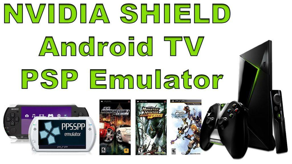 4521 NVIDIA SHIELD Android TV PSP Emulator Test Using PPSSPP