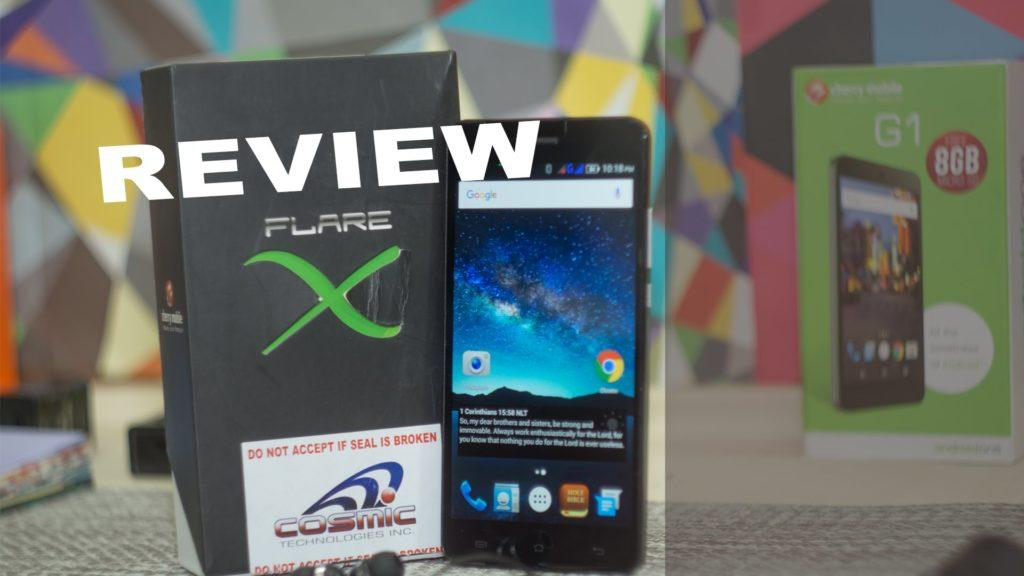 4577 Full Review: Cherry Mobile Flare X