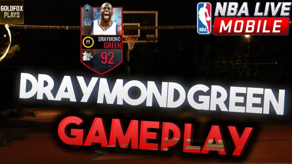 4581 92 DRAYMOND GREEN GAMEPLAY REVIEW!! | NBA LIVE MOBILE