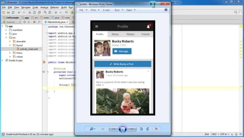 4616 Android App Development for Beginners - 45 - ListView