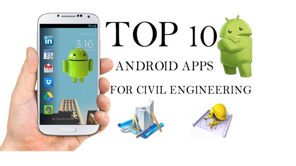 4644 Top10 Android apps For Civil Engineers 2016★