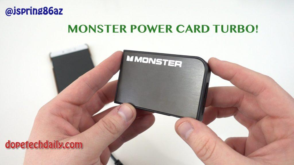 4650 Monster Mobile PowerCard Turbo Review: Ultra-Portable Battery!